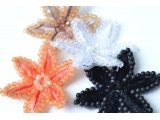 Small star design beads